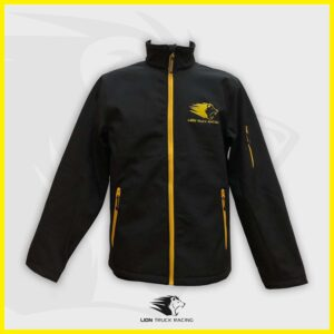 LION TRUCK RACING soft shell homme jaune