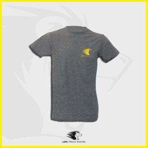 LION TRUCK RACING t-shirt homme gris