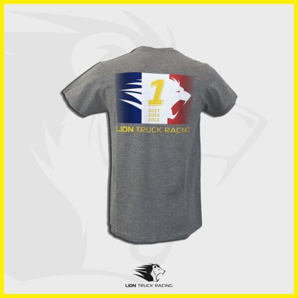 LION TRUCK RACING t-shirt gris homme