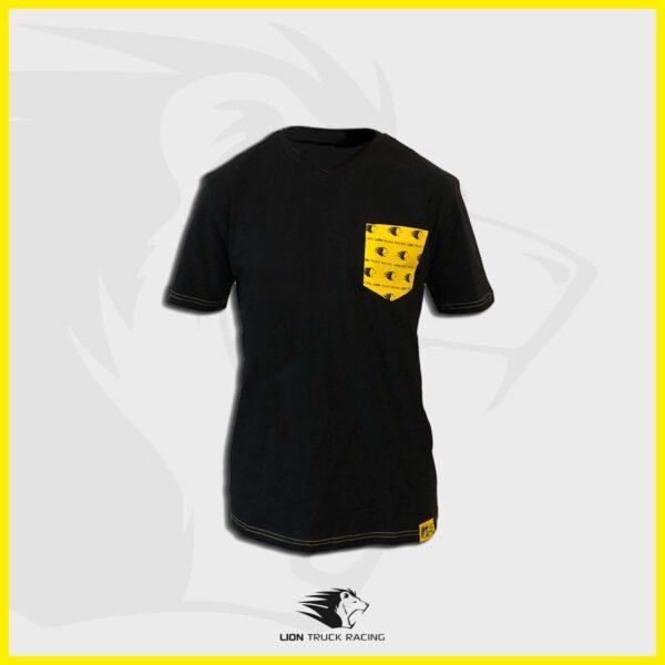 LION TRUCK RACING t-shirt poche homme