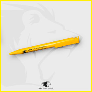 LION TRUCK RACING stylo jaune