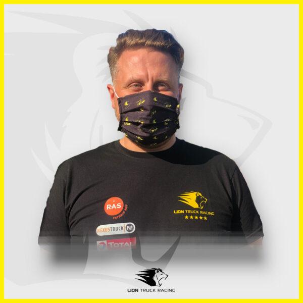 LION TRUCK RACING masque noir