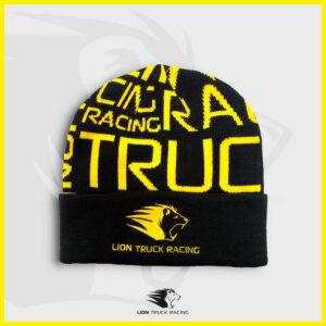 LION TRUCK RACING bonnet noir jaune